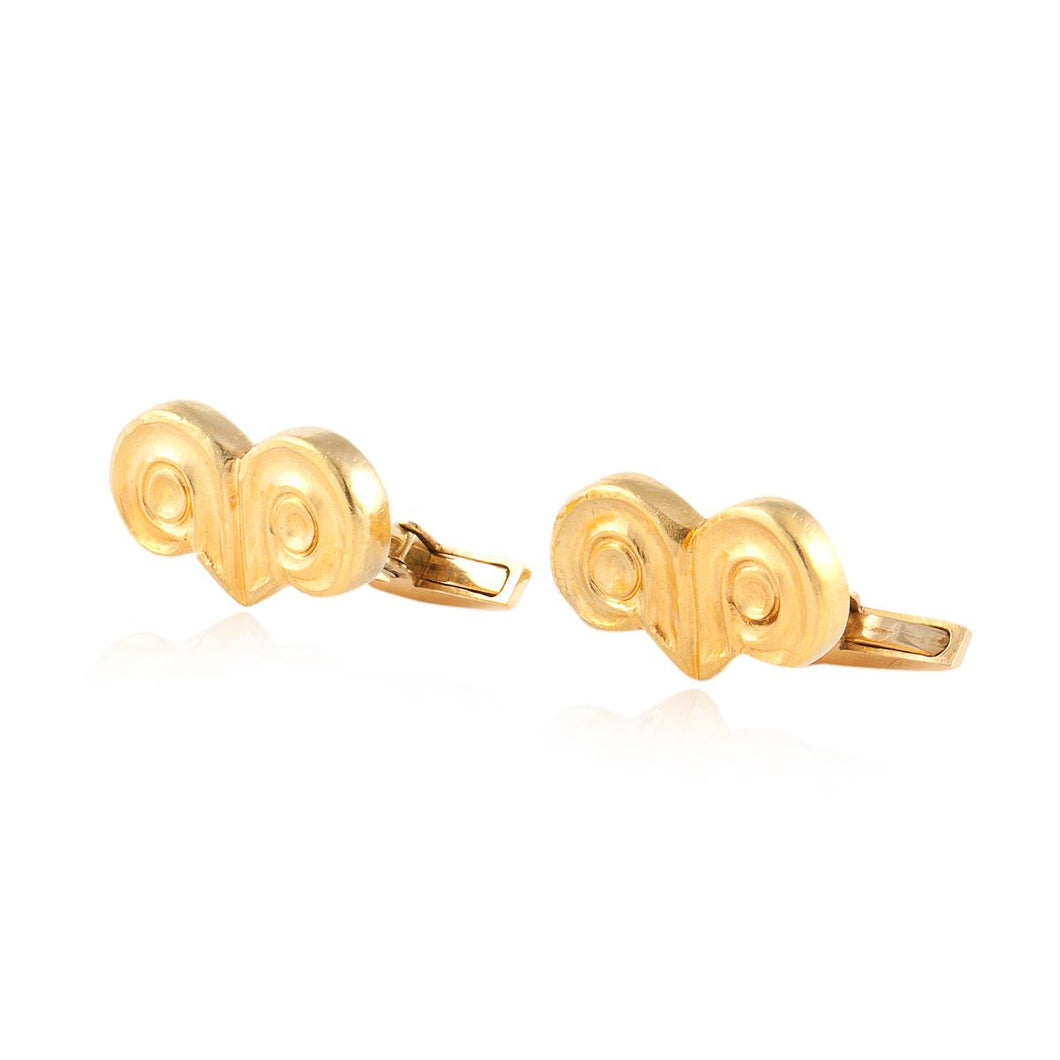 Estate LaLaounis 18K Gold Cufflinks