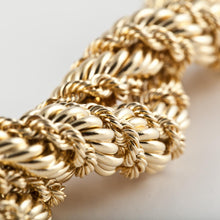 Load image into Gallery viewer, Estate Tiffany & Co. Schlumberger 18K Gold  Diamond Bracelet