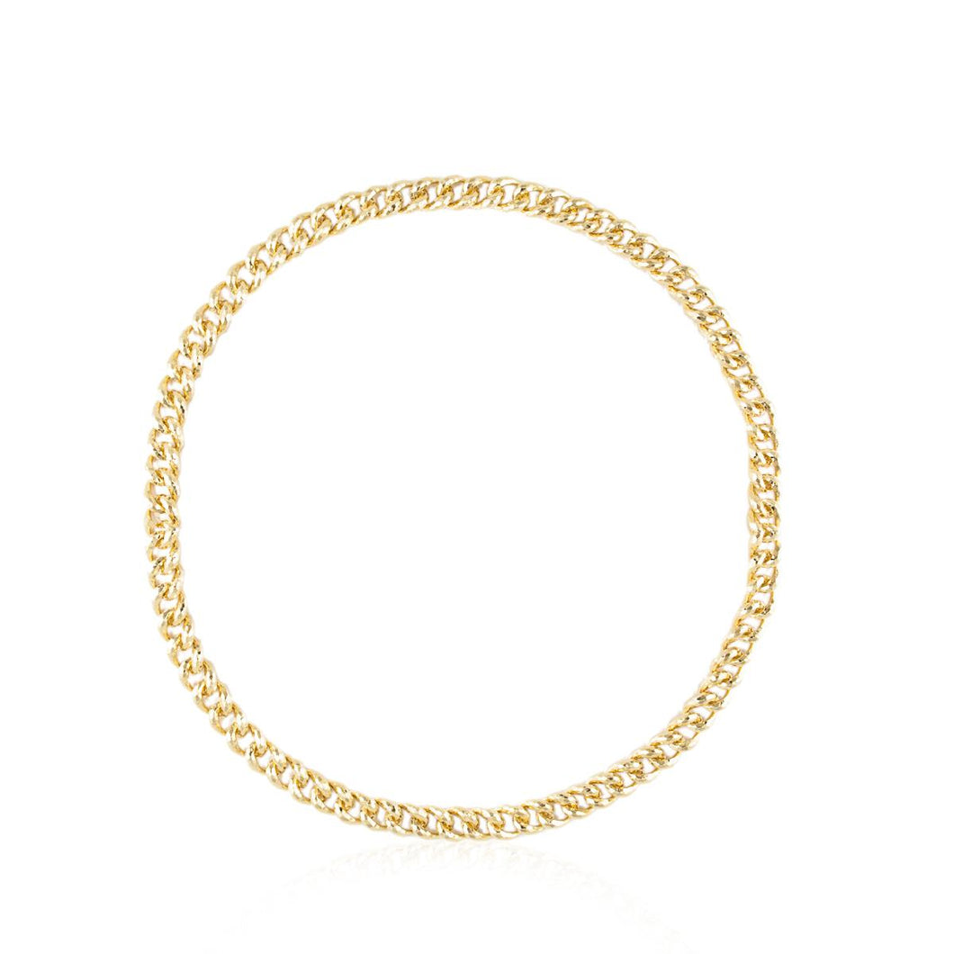 Estate Henry Dunay 18K Gold Link Necklace