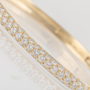 Estate Tiffany & Co. Etoile Diamond Bangle