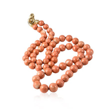 Load image into Gallery viewer, Coral Bead Necklace