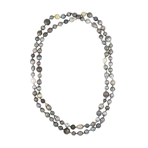 "48"" Strand of Baroque Tahitian Pearls"