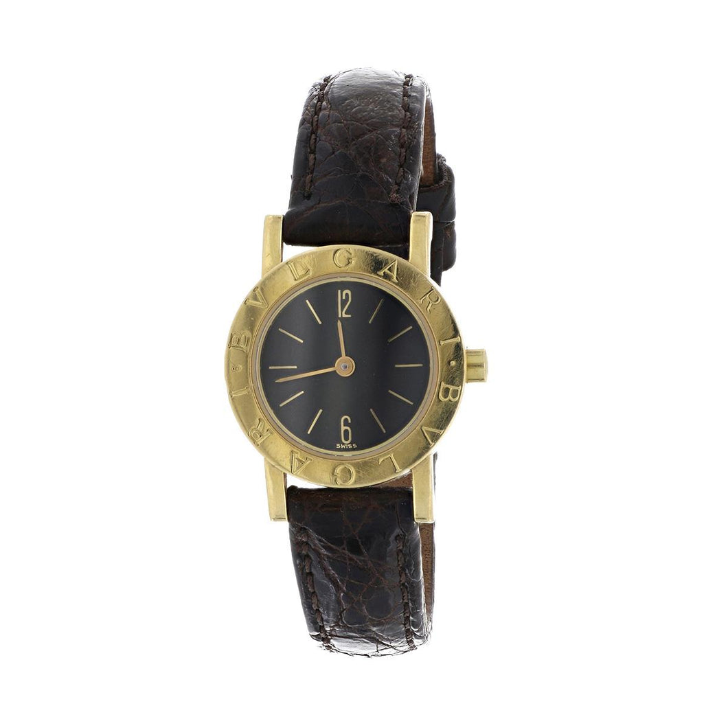 Bulgari 18K Gold Watch