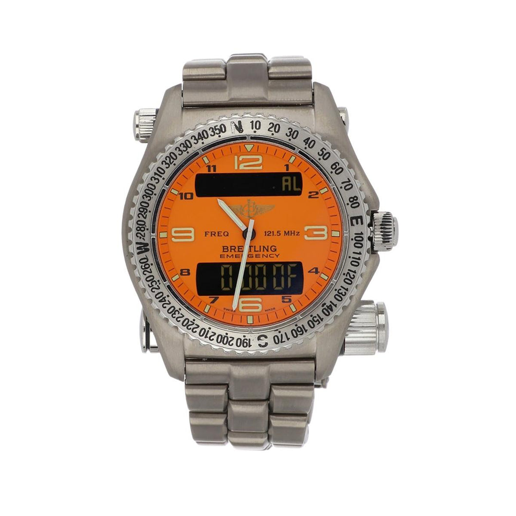 Breitling Titanium Emergency Watch
