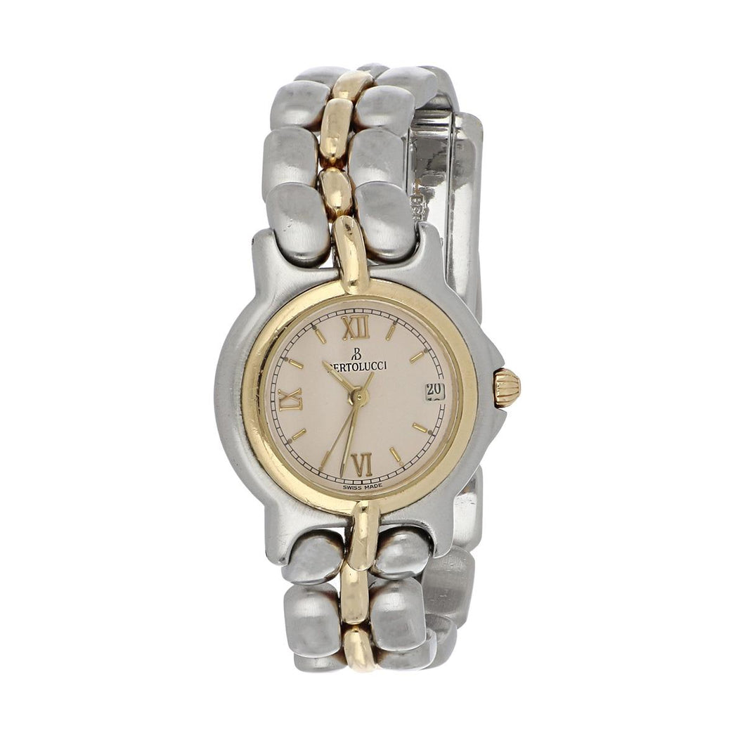 Bertolucci Stainless Steel and 18K Gold Pulchara Watch