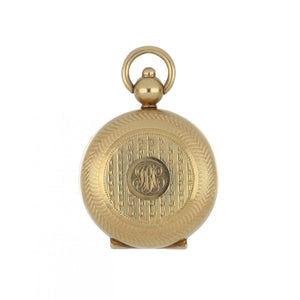 14K Gold Coin Holder Pendant