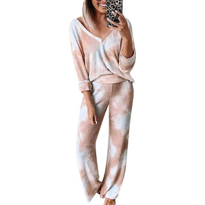 Pink Loose Tracksuits Lounge Wear Women Casual Two Piece Set Autumn Street t-shirt Tops and Jogger Home Suit 2pcs Outfits