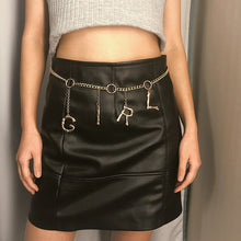 Load image into Gallery viewer, Retro Chain Belts For Women Waistbands All-Match