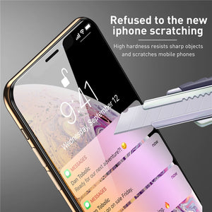 9H Tempered Glass for iPhone 11 Pro Xs Max X  7 8 Plus Xr Screen Protector for iPhone 11 Glass Screen Protection Full Cover