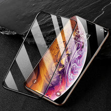 Load image into Gallery viewer, 9H Tempered Glass for iPhone 11 Pro Xs Max X  7 8 Plus Xr Screen Protector for iPhone 11 Glass Screen Protection Full Cover