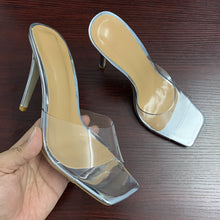 Load image into Gallery viewer, Sexy PVC Transparent slippers sandals summer fashion