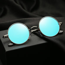 Load image into Gallery viewer, Retro Punk Style Round Polarized Sunglasses Women
