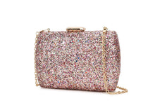 Load image into Gallery viewer, Luxury Sequins Fashion Party Wedding Clutch Bag Evening Bag Ladies Mini Messenger Bag For Women Flap Shoulder Bag Handbag Purse
