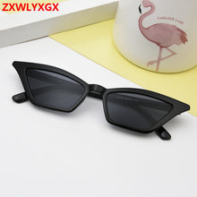Load image into Gallery viewer, Cat eye sunglasses women brand design retro colorful