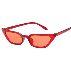 NYWOOH Cat Eye Sunglasses Women Luxury Brand Designer Vintage Transparent