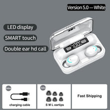 Load image into Gallery viewer, F9 TWS Wireless Earphones Bluetooth 5.0