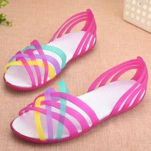 Jelly Shoes Women Clear Shoes Sandals transparent