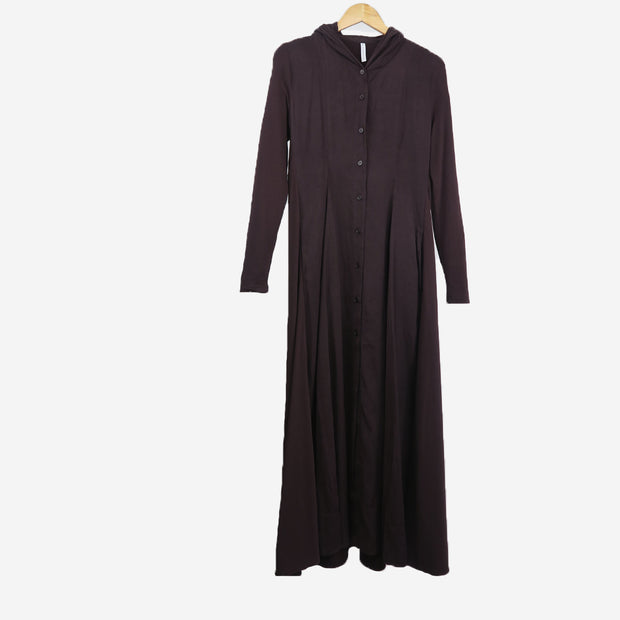 LONG SLEEVE HOODED DRESS