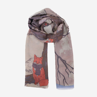 WINTER CHUMS PRINTED SCARF