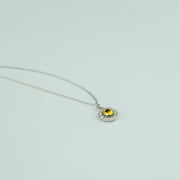 SIMPLY STUNNING NECKLACE - CITRINE
