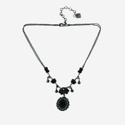 BLACK ORCHID NECKLACE