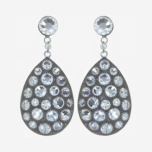 TEARS OF JOY LARGE SPARKLY EARRINGS