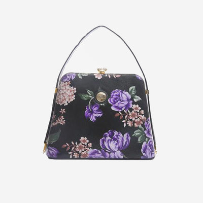 LAVISH PURPLE FLORAL BAG