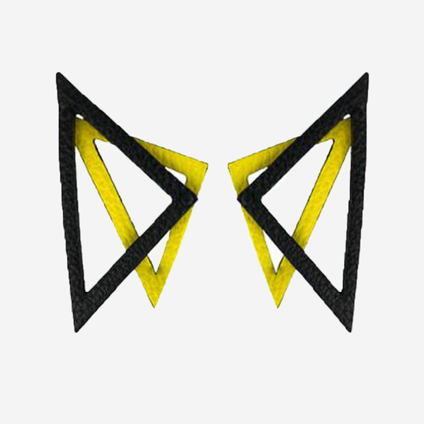STATEMENT TRIANGLE EARRINGS