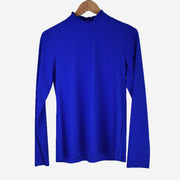 ROYAL BLUE TURTLE NECK TOP