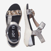 SPORTS SANDAL GALIA PEWTER