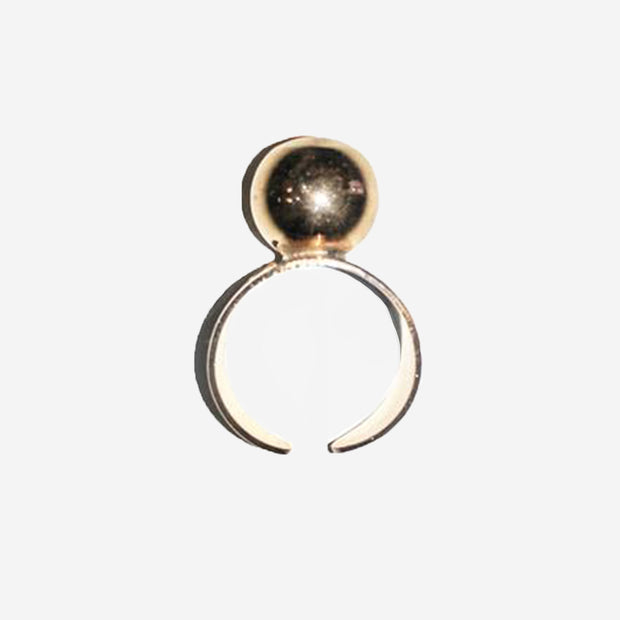 ROSE GOLD ONE SIZE BALL RING