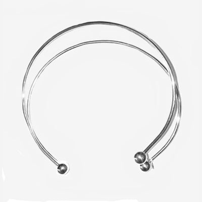DOUBLE CIRCLE NECK COLLAR