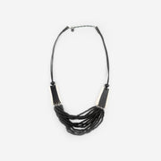 MAYAN 2 - NECKLACE BLACK