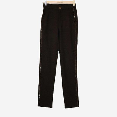 LEO TROUSERS WITH EMBELLISHED SIDES
