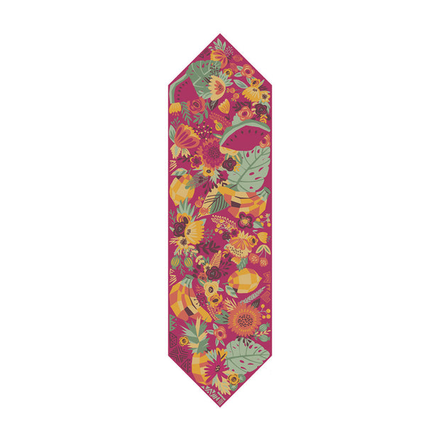 TROPICAL FRUIT NECK SCARF