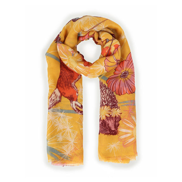 FESTIVAL FRIENDS PRINTED SCARF