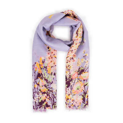 SPRING HARE PRINTED SCARF