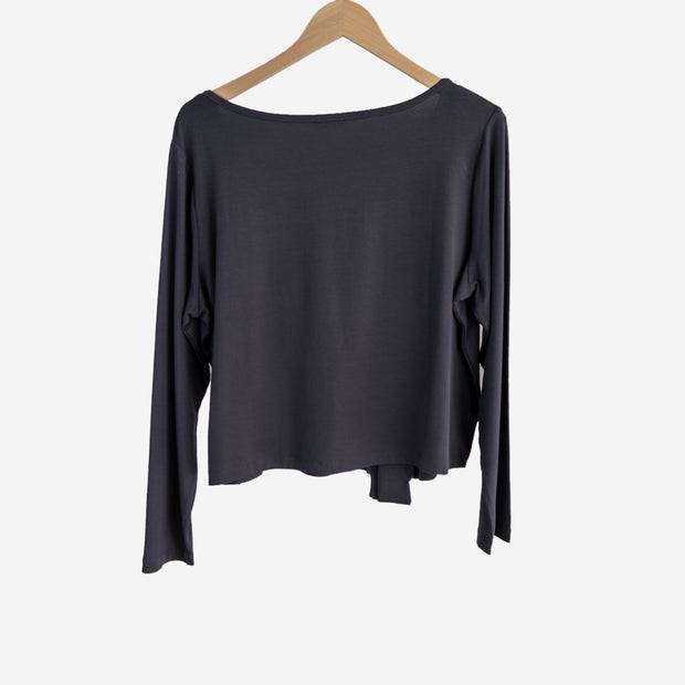ROUND NECKED TOP