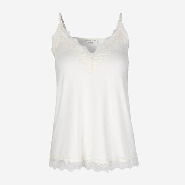 LACE STRAP TOP - BILLIE (IVORY)