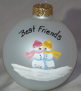 Personalized ornament celebrating Friendship
