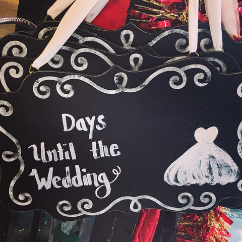 Count down to the wedding