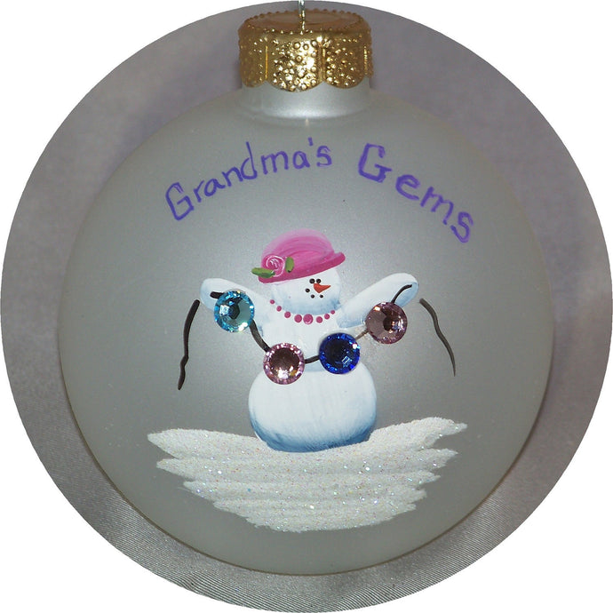 Grandmas's Gems Ornament