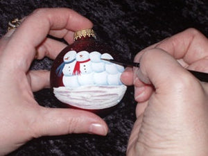 "Design your own ""one of a kind""  4"" Ornament"