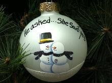 "Load image into Gallery viewer, Design your own ""one of a kind""  4"" Ornament"