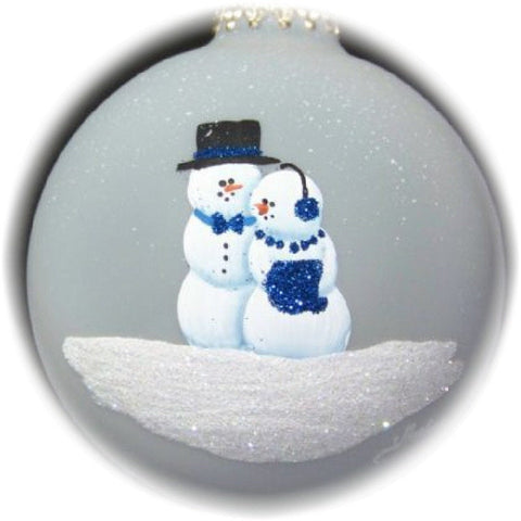 Personalized ornament celebrating your First Christmas together.