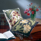 Carnation Tile cushions