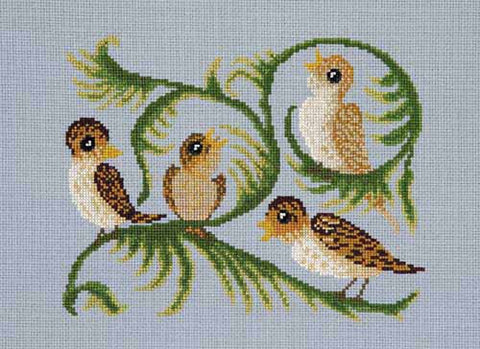 Little Birds cross stitch chart