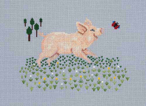 Pigs cross stitch chart