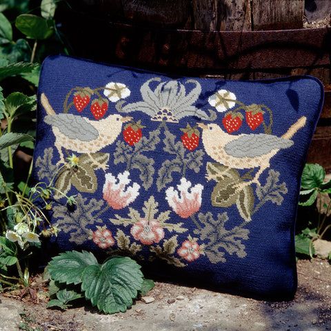 Strawberry Thief 3 cushion