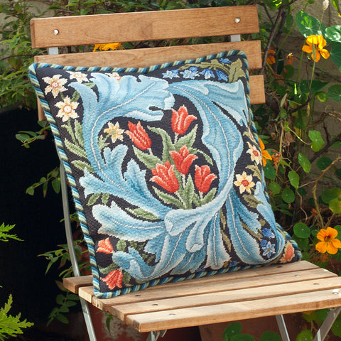 William Morris panel cushion needlepoint kit